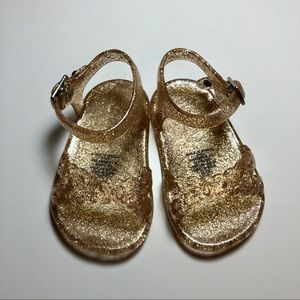 Baby Girl Cross-Strap Jelly Sandals | Old Navy